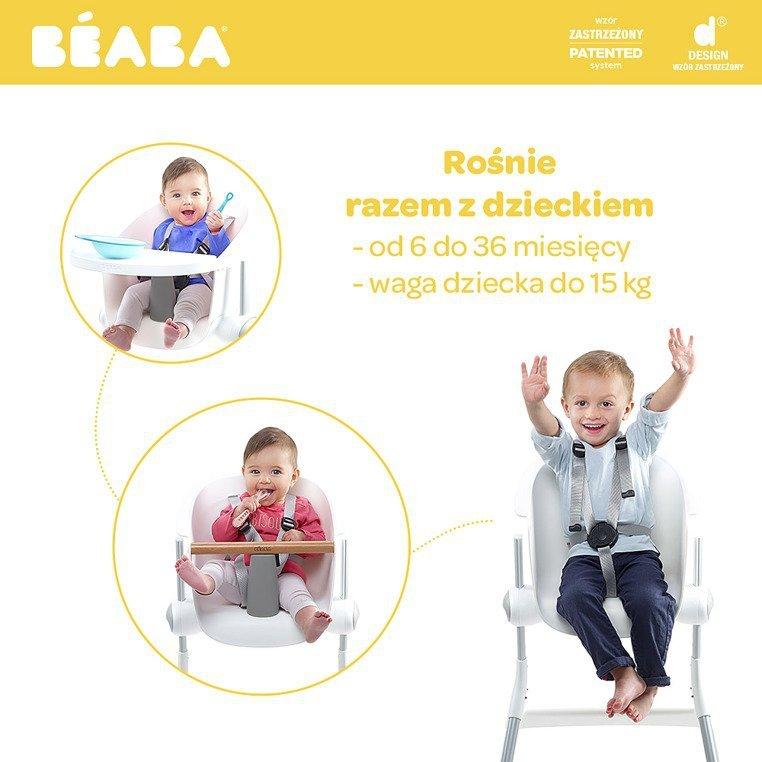 Beaba Krzesełko do karmienia Up&Down grey/white