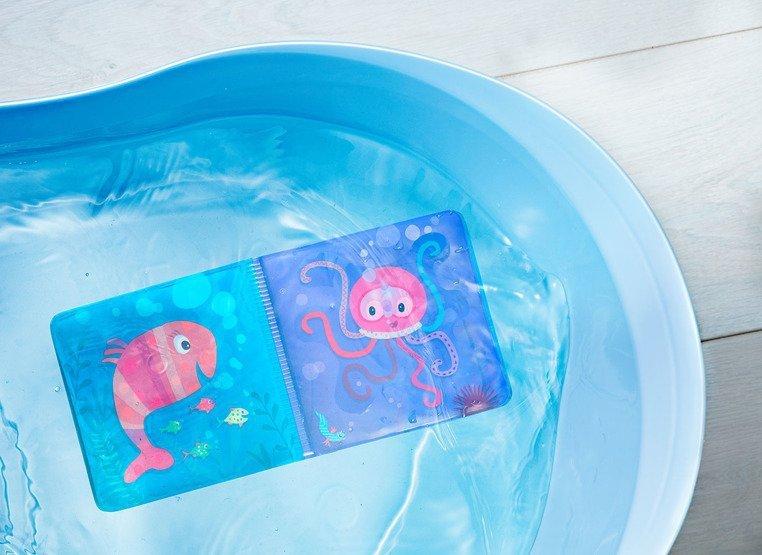 LILLIPUTIENS Magiczna książeczka do kąpieli Lisiczka Alice 12 m+