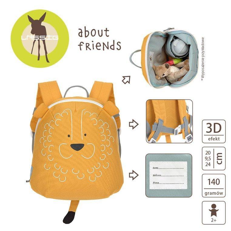 Lassig Plecak mini About Friends Lew