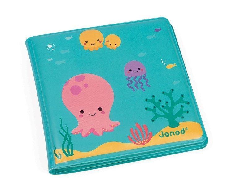 Magiczna książeczka do kąpieli Pod wodą 10 m+, Janod