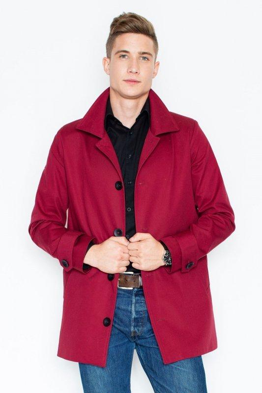 Płaszcz V028 Bordo XL