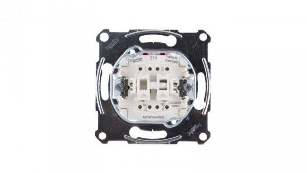 Merten Przycisk dwubiegunowy IP20 MTN3155-0000