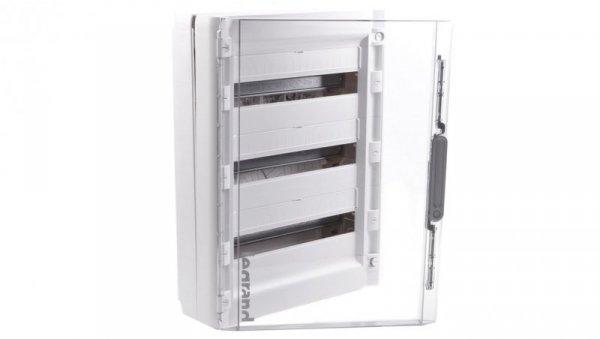 Rozdzielnica modułowa XL3 125 3x18 natynkowa IP40 /drzwi transparentne/ 401658
