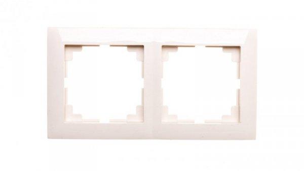 Sentia Ramka podwójna kremowa 1472-01