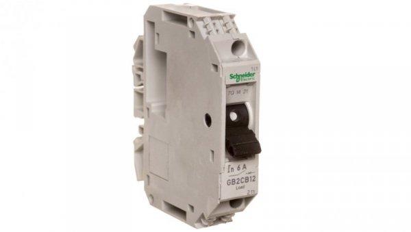 Wyłącznik termo-magnetyczny 1P 6A 6kA AC GB2CB12