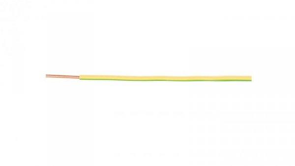 Przewód instalacyjny H07V-U (DY) 10 żółto-zielony /100m/