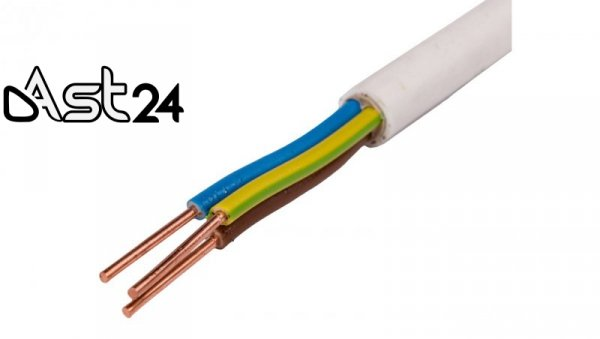 Przewód YDY 3x10 żo 450/750V /bębnowy/