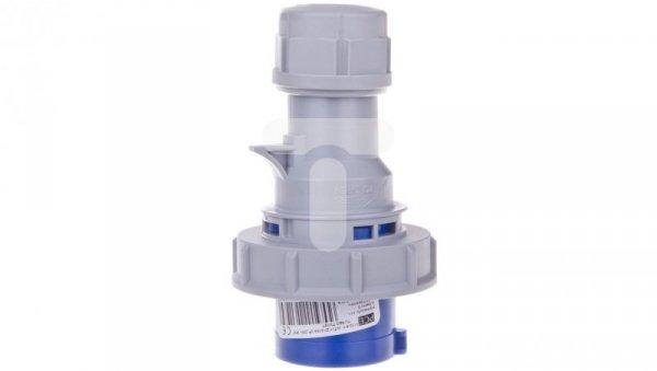 Wtyczka przenośna 16A 3P 230V niebieska IP67 TURBO SHARK 0132-6TT