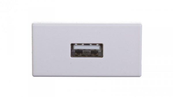 Simon Connect Gniazdo K45/2 USB typ A żeńskie czysta biel K128B/9