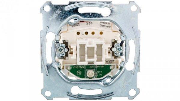 Merten Łącznik pojedynczy 10A 250V IP20 z sygnalizacją zał. MTN3101-0000
