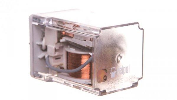 Przekaźnik przemysłowy 3P 10A 24V DC AgCdO R15-1013-23-1024-PKP 802034