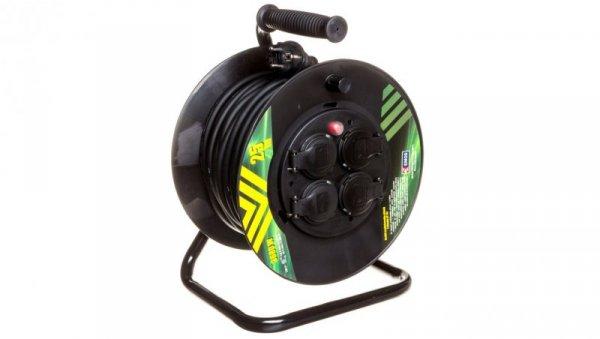Przedłużacz bębnowy 4-gniazda z/u 25m H05RR-F 3G1,5 IP44 P084251