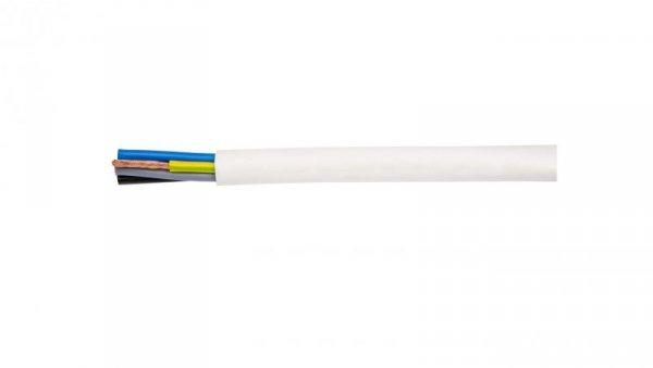 Przewód warsztatowy H05VV-F (OWY) 5x1,5 żo biały /bębnowy/