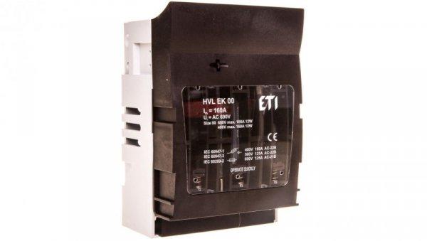 Rozłącznik bezpiecznikowy 3P 160A NH00 HVL EK 00 M8 001701250
