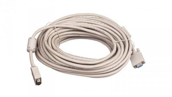 Kabel przedłużający SVGA Typ DSUB15/DSUB15, M/Ż beżowy 20m AK-310203-200-E