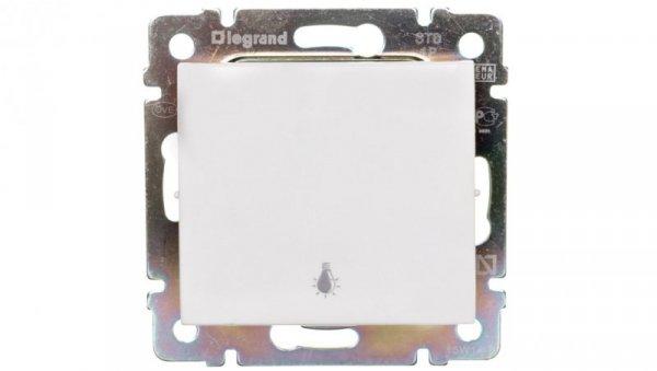 VALENA Przycisk jednobiegunowy biały 774412