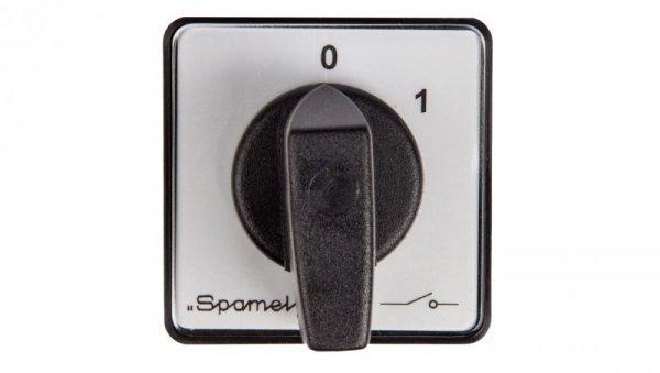 Łącznik krzywkowy 0-1 4P 20A do wbudowania SK20-2.8210P03
