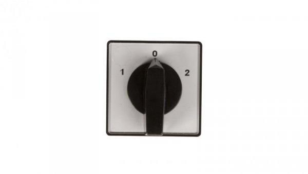Łącznik krzywkowy 1-0-2 3P 10A do wbudowania 4G10-53-U 63-840343-011