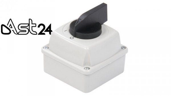 Łącznik krzywkowy 0-1 3P 16A IP44 Łuk E16-13 w obudowie 951611