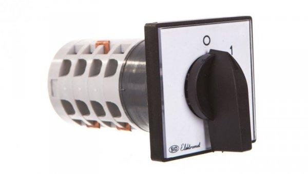 Łącznik krzywkowy 0-1-2 3P 16A IP65 z płytką Łuk E16-32 951631