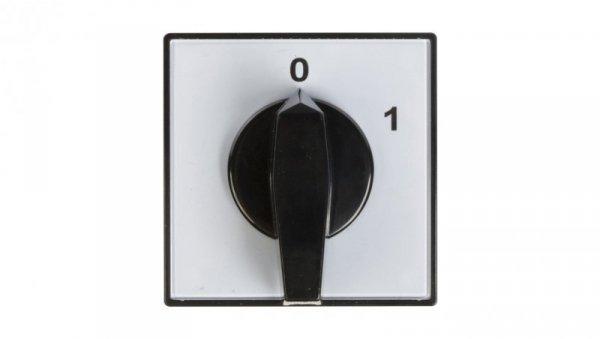 Łącznik krzywkowy 0-1 3P 40A do wbudowania 4G40-10-U 63-840304-041