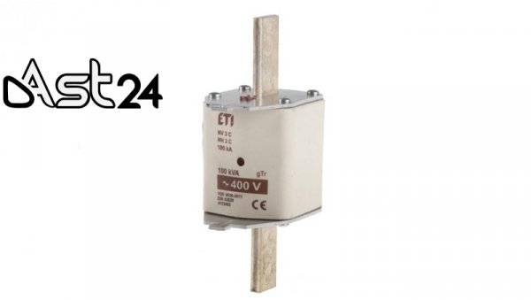 Wkładka bezpiecznikowa NH3 144A gTr 100kVA 400V WT-3 004115402