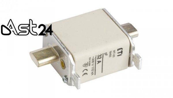 Wkładka bezpiecznikowa NH00 32A gF 500V WT-00 004114334
