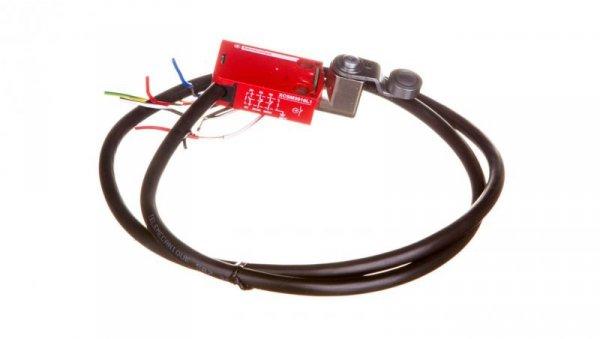 Wyłącznik krańcowy 2R 1Z migowy metal dźwignia obrotowa kabel 1m XCSM3916L1