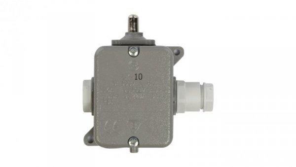 Wyłącznik krańcowy 1R 1Z w obudowie metalowej popychacz  LK-10 W0-59-351012