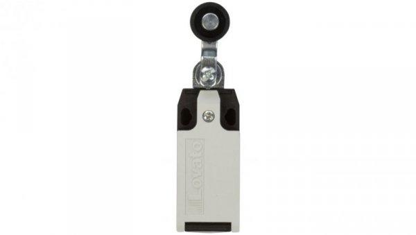 Wyłącznik krańcowy 1R 1Z migowy tworzywo popychacz z rolką KBE1S11