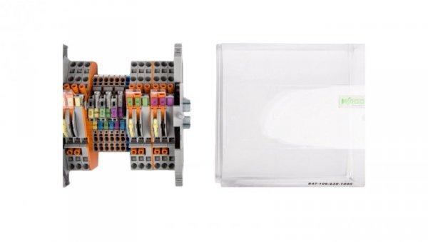 Listwa pomiarowa LPW 16-torowa 230V AC równoległa 847-106/230-1000