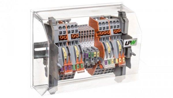 Listwa pomiarowa LPW 19-torowa 60V AC równoległa 847-356/060-1000