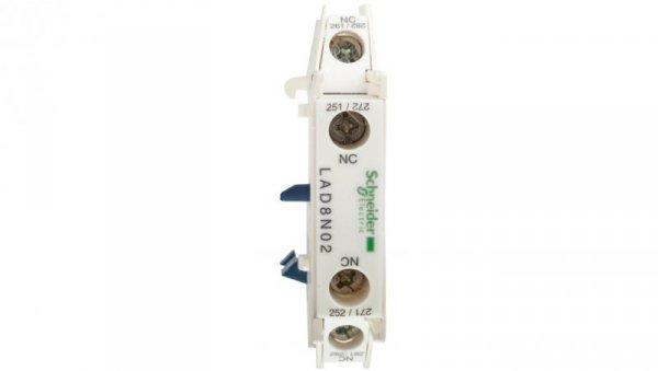 Styk pomocniczy 2R montaż boczny LAD8N02