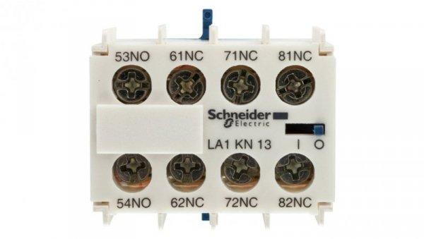 Styk pomocniczy 1Z 3R montaż czołowy LA1KN13