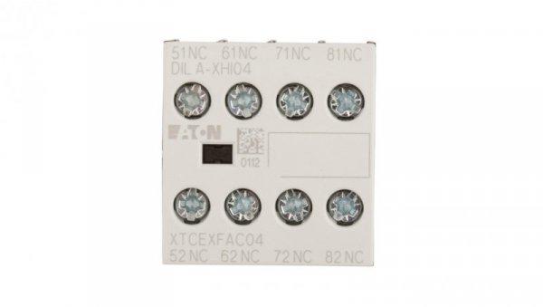 Styk pomocniczy 4R montaż czołowy DILA-XHI04 276424