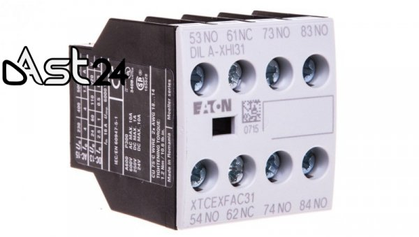 Styk pomocniczy 3Z 1R montaż czołowy DILA-XHI31 276427
