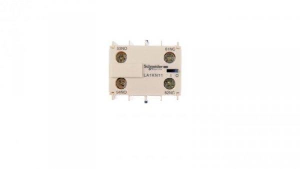 Styk pomocniczy 1Z 1R montaż czołowy LA1KN11