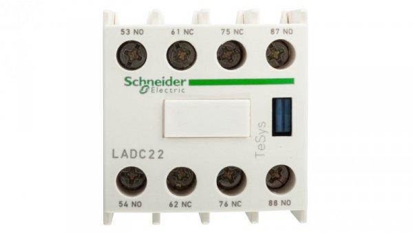 Styk pomocniczy 2Z 2R montaż czołowy LADC22