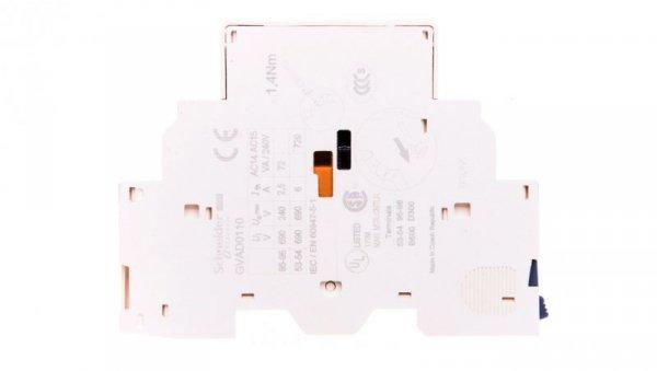 Styk pomocniczy 1Z 1R montaż boczny GVAD0110