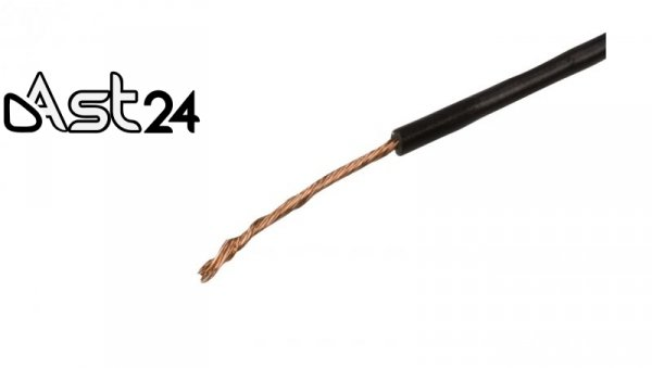 Przewód instalacyjny H07V-K 6 czarny 4520014 /100m/