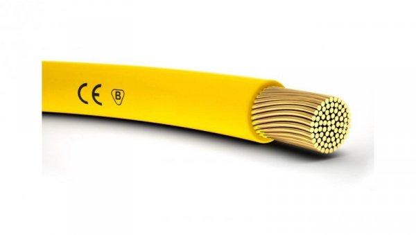 Przewód instalacyjny H05V-K 0,5 żółty 4510111 /100m/