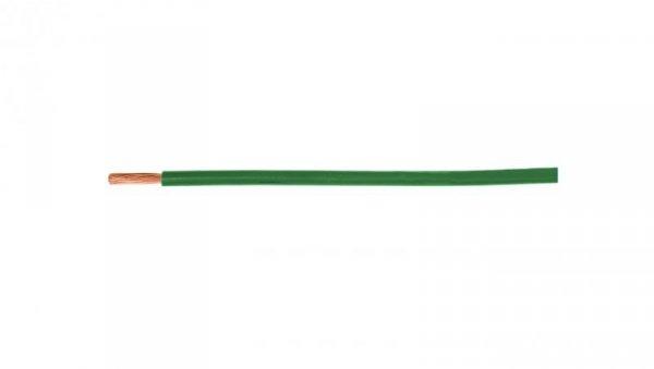Przewód instalacyjny H05V-K (LgY) 1 zielony /100m/