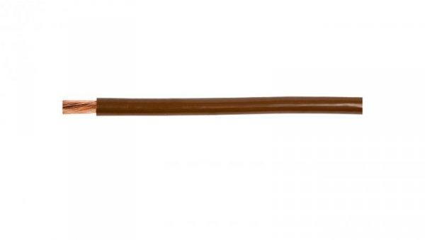 Przewód instalacyjny H07V-K (LgY) 10 brązowy /100m/