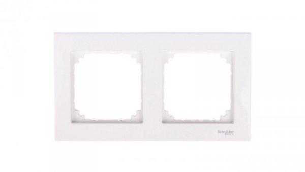 Merten M-Plan Ramka podwójna biel polarna MTN515219