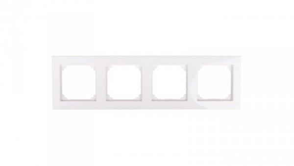 Merten M-Plan Ramka poczwórna biel polarna MTN515419