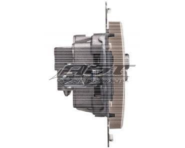 Simon 54 Gniazdo antenowe SAT/SAT/RTV końcowe złoty mat DASK2.01/44