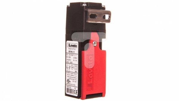 Wyłącznik krańcowy bezpieczeństwa 1R 1Z wolnoprzełączający klucz kątowy T tworzywo KBN4L11