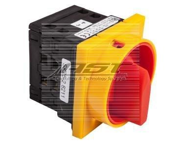 Łącznik krzywkowy 0-1 3P 25A do wbudowania SK25-2.8211P08