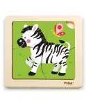 Puzzle na podkładce-zebra Viga