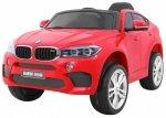 Auto na akumulator BMW X6M Czerwony